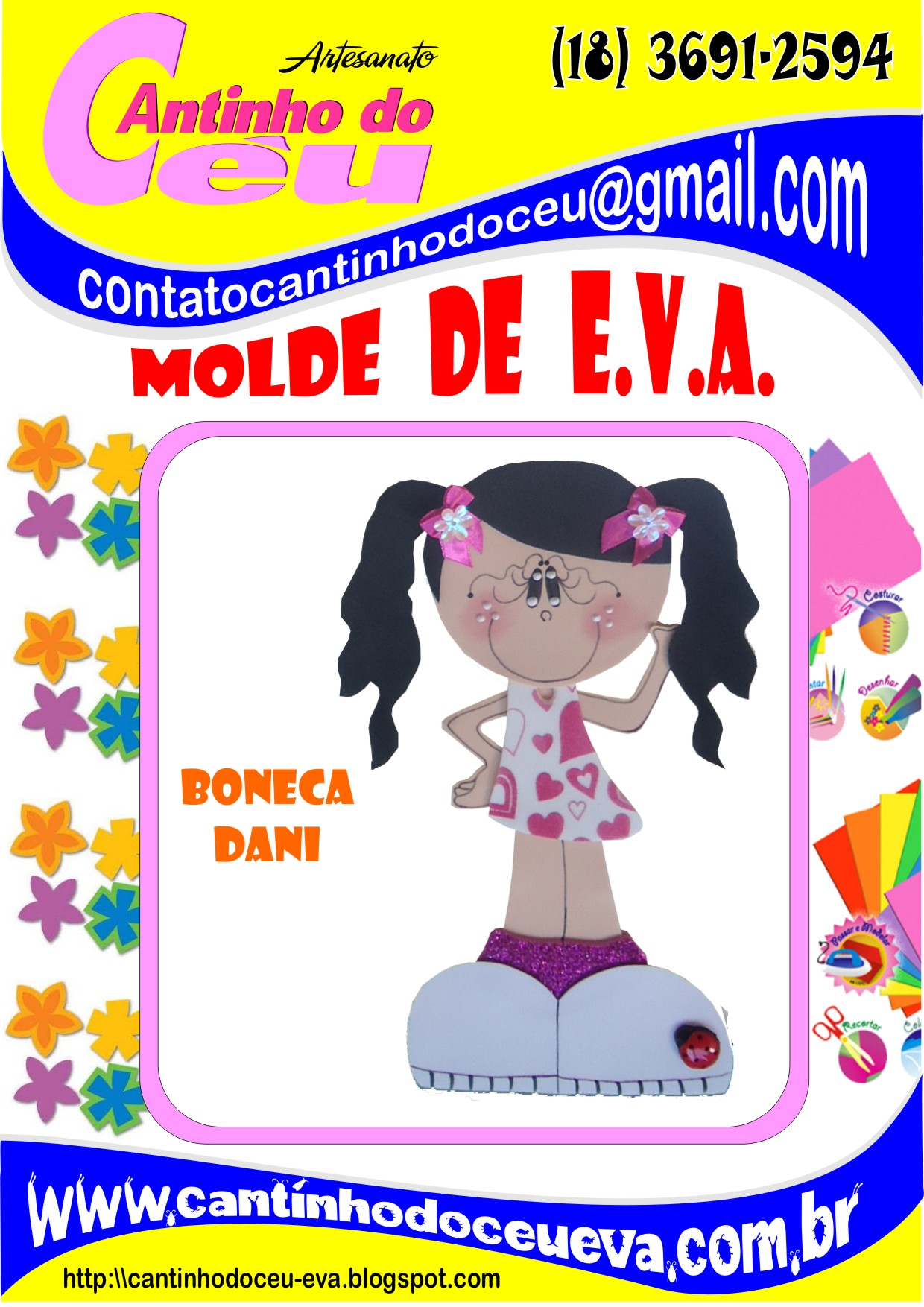 Artesanato Pernambuco Onde Comprar ~ Moldes Eva Bonecas E Bonecos Artesanato Criativo Tattoo Design Bild