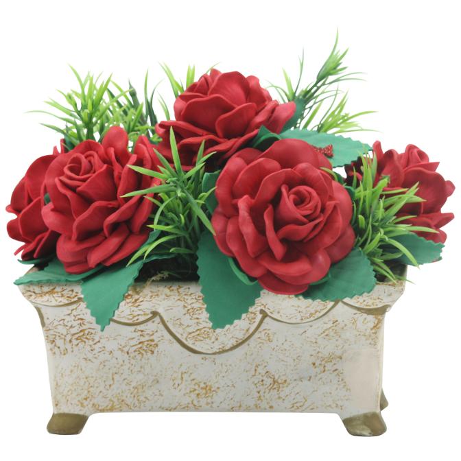 Vaso de flores : Artesanato EVA