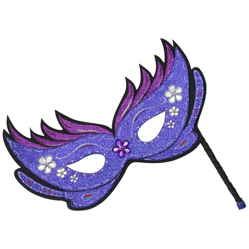M scara de carnaval artesanato eva - Mascaras para carnaval ...